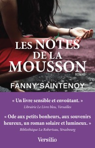 les notes de la mousson fanny saintenoy