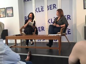 Muriel Barbery et Bénédicte Junger à la librairie Kléber