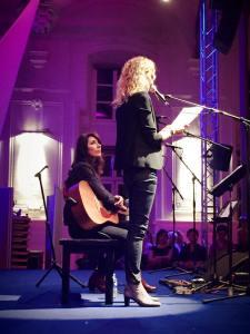 lecture musicale La Grande Sophie et Delphine de Vigan (CR Bénédicte Junger)