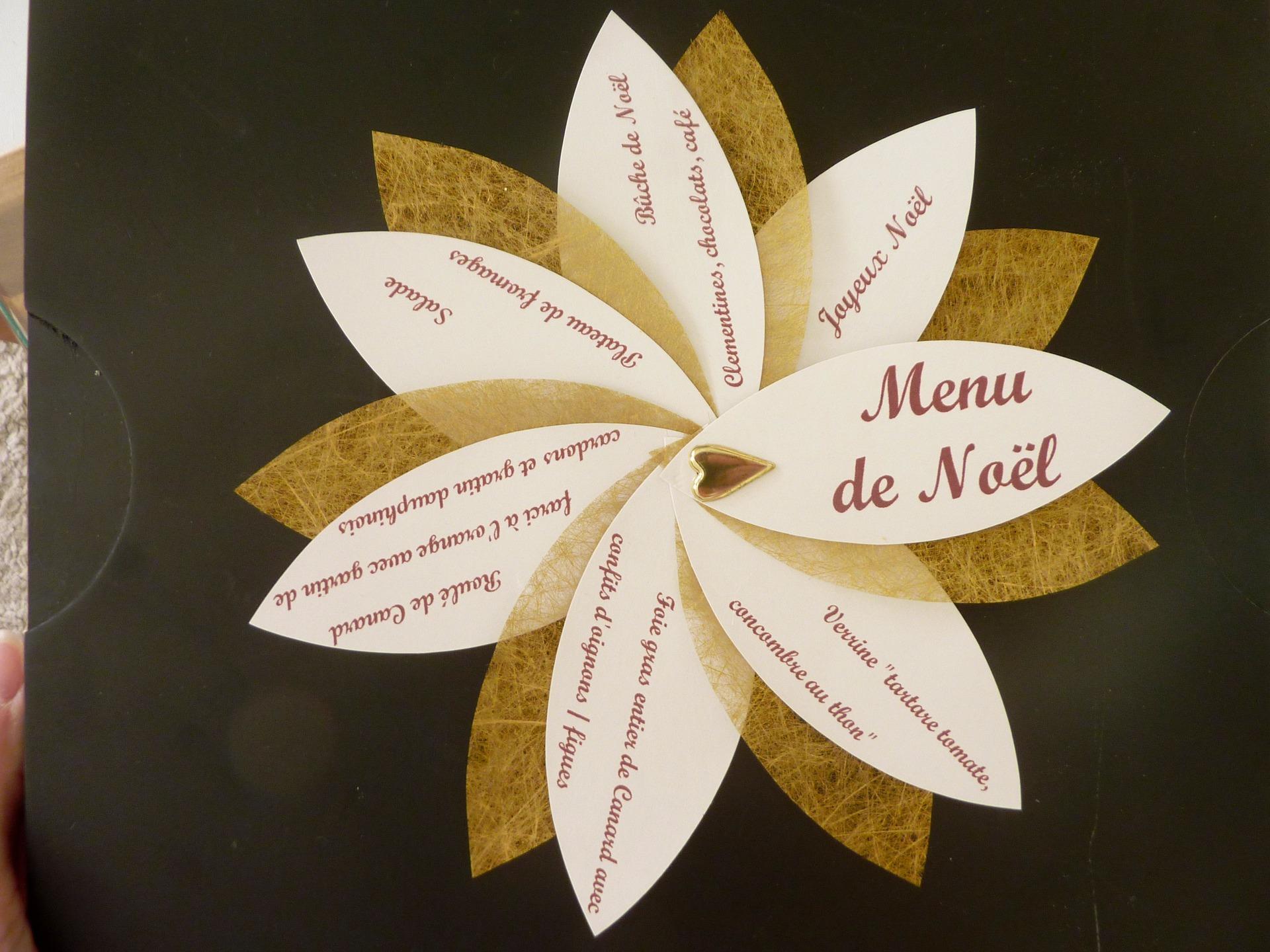 Attractive Menu De Noel Original #4: Menu-de-noel